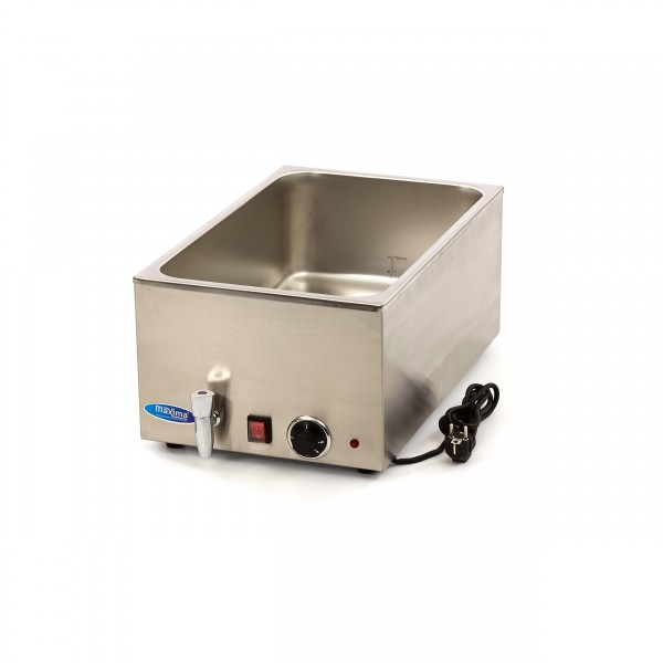 Maxima Bain Marie with faucet