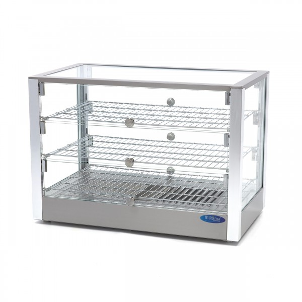 Maxima Stainless Steel Hot Display - 3 Levels - 70...