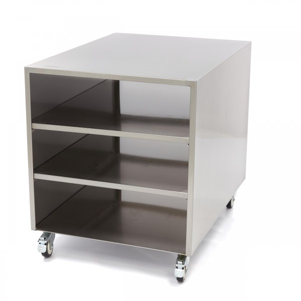Maxima Stainless Steel Machine Table / Movable Tab...