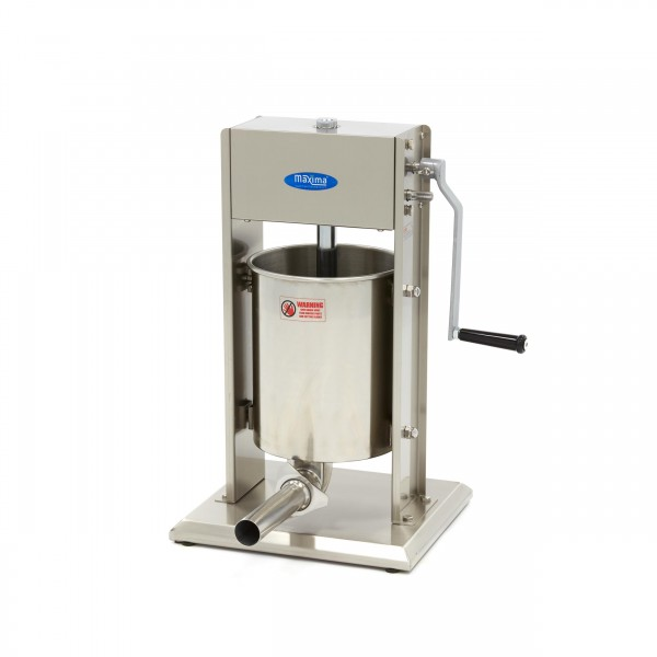 Maxima Sausage Filler 10L - Vertical - Stainless S...