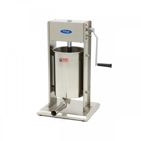 Maxima Sausage Filler 12L - Vertical - Stainless S...