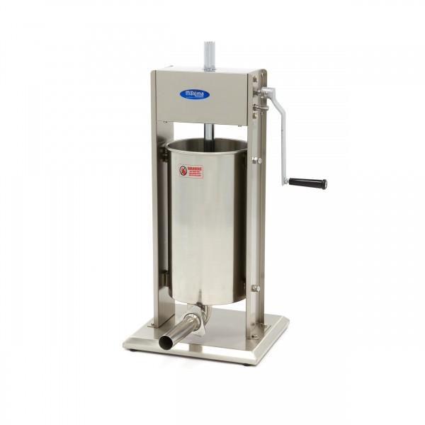 Maxima Sausage Filler 15L - Vertical - Stainless S...