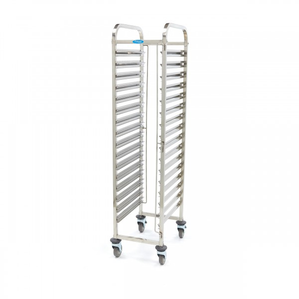 Maxima Stainless Steel Tray Trolley Gastronorm 16 ...