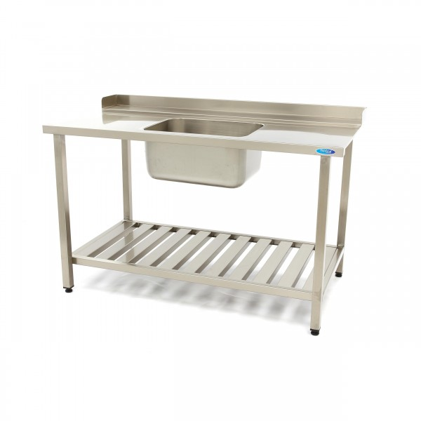 Maxima Dishwasher Inlet Table with Sink 1400 x 750...