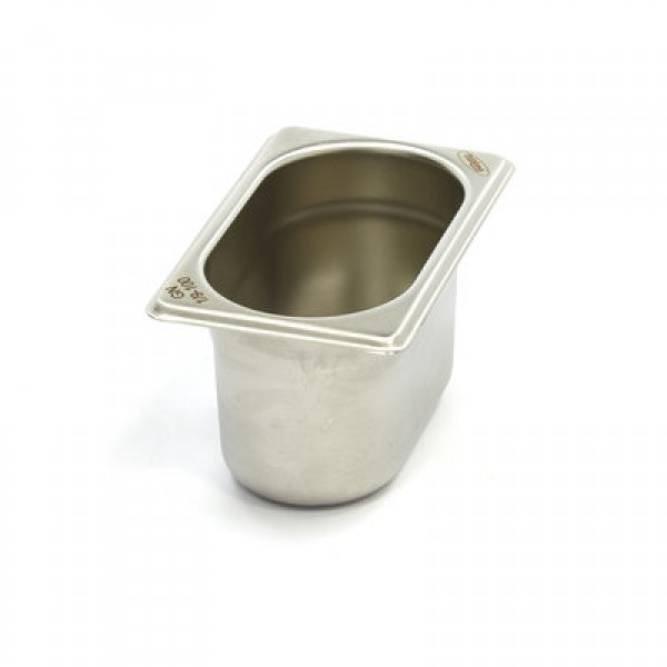Stainless Steel Gastronorm Container 1/13GN | 150m...