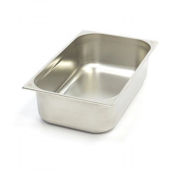 Stainless Steel Gastronorm Container 1/1GN | 100mm...