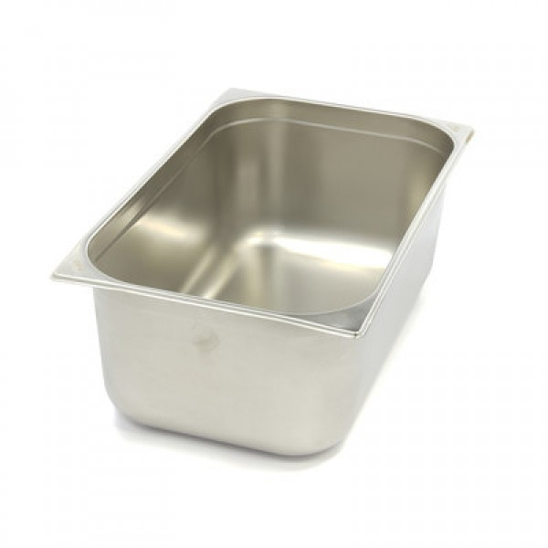 Stainless Steel Gastronorm Container 1/1GN | 150mm...