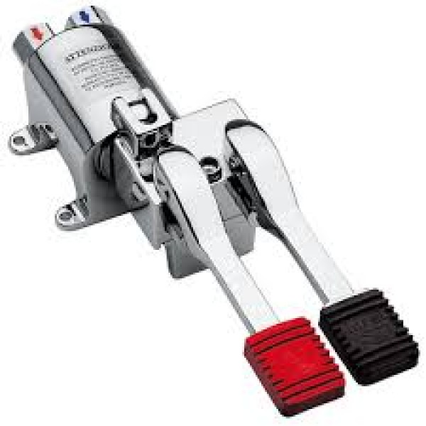 Double Pedal With Stop Flow - 697p19