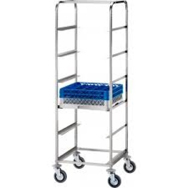 Forcar Stainless Steel Dishwasher Trays Trolley - ...