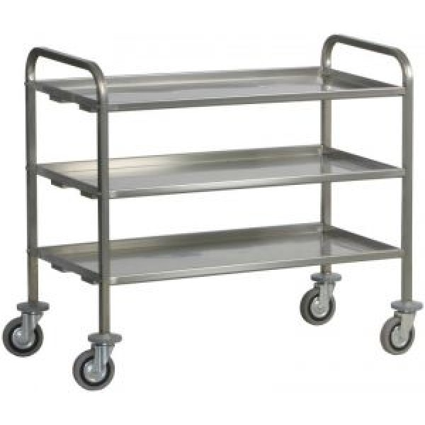Forcar Stainless Steel Serving Trolley -CA 1410 + ...