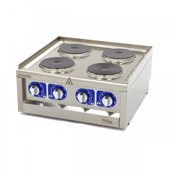 Maxima 600 Electric Cooker 4 Plates 60 X 60 CM