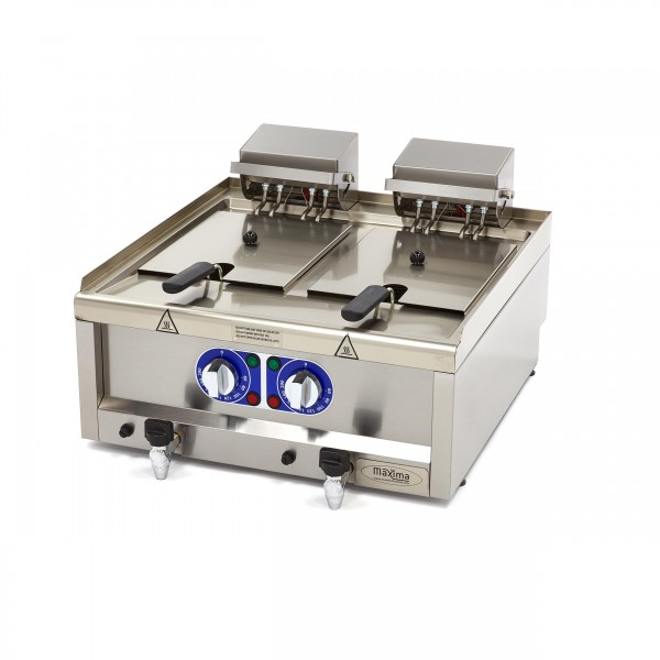 Maxima 600 Electric Fryer 2x10L 60 X 60 CM