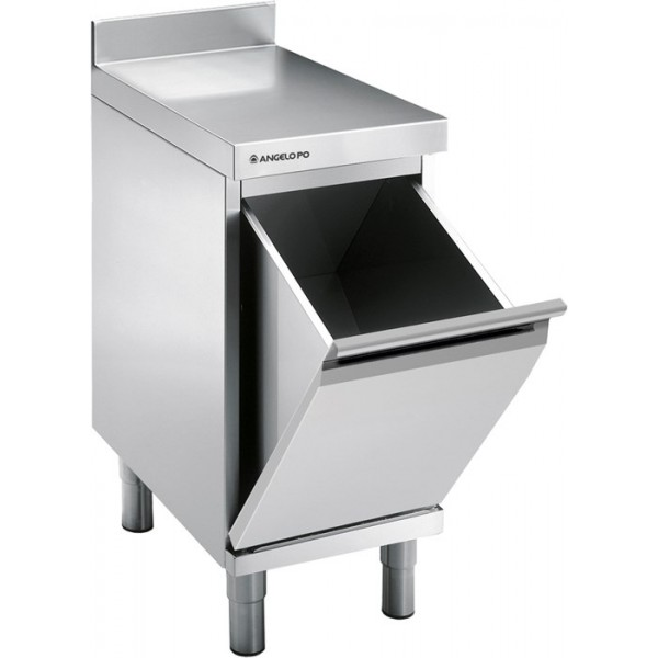 Angelo Po Hopper With Top And Rear Splashback -Α�...