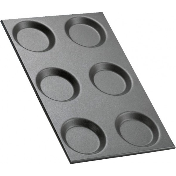 Angelo Po Non-stick Container 6 Moulds 1/1 GN -T6S...